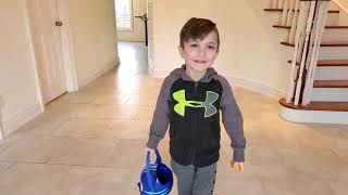 Easter Surprise Eggs Hunt with Smashers Toys