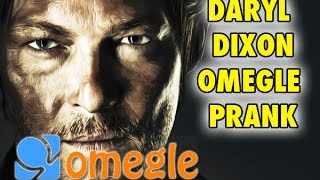 The Walking Dead Omegle Prank - Daryl Dixon on Omegle (Funny Omegle Reactions)