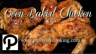 The BEST Oven Baĸed Chicken Recipe: How To Bake Chicken In The Oven