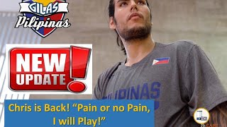 Gilas Update! Gilas Pilipinas Day 9 Update Chris is Back! Preparing for Korea