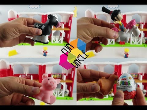NEW FUN Old MacDonald Had a Farm featuring Agnes Gru and KINDER SURPRISE