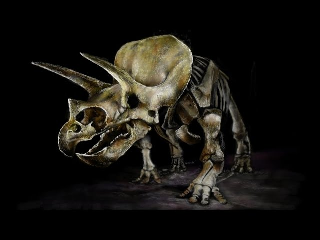 TRICERATOPS Speed Painting