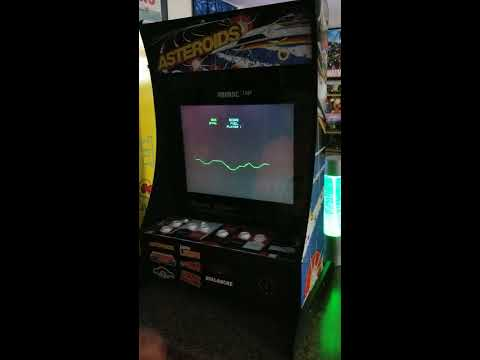 New Qvc Arcade1up Asteroids Partycade from 1HealthPlays Onstot