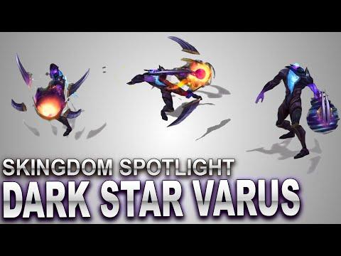 Dark Star Varus Skin Spotlight | SKingdom - League of Legends