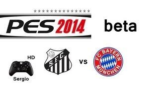 BETA PES 2014 | Santos FC vs FC Bayern München | Gameplay PS3