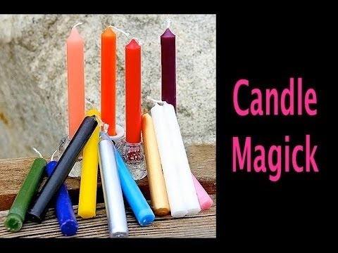 candle magick what the colors represent