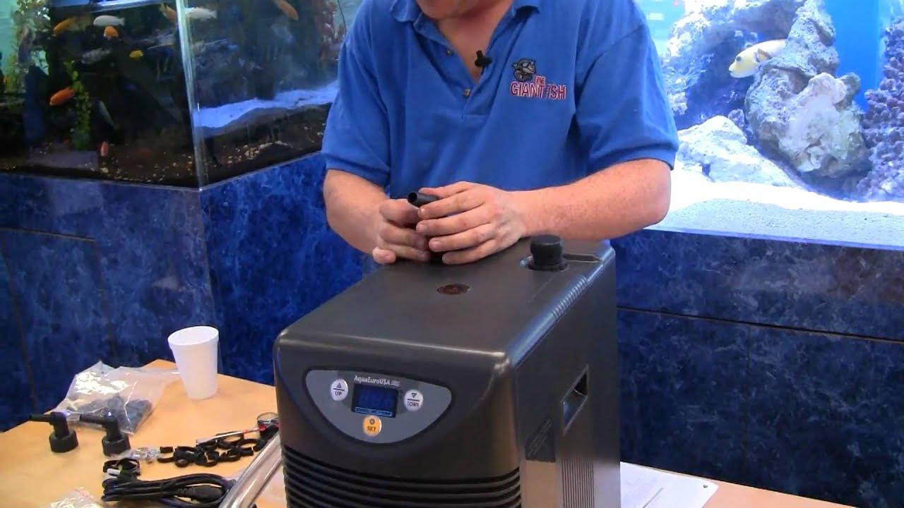 how to make a homemade aquarium chiller