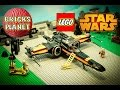 Poe's X-Wing Fighter 75102 LEGO Star Wars - Stop Motion Review