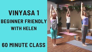 60 Minute Yoga Class - Vinyasa 1 Beginner Flow