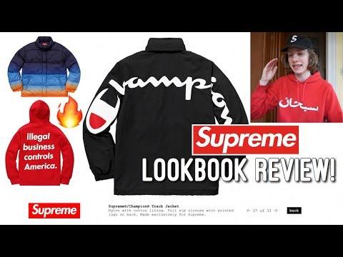 Supreme S/S '18 Lookbook Review! (Good or Bad Season?)