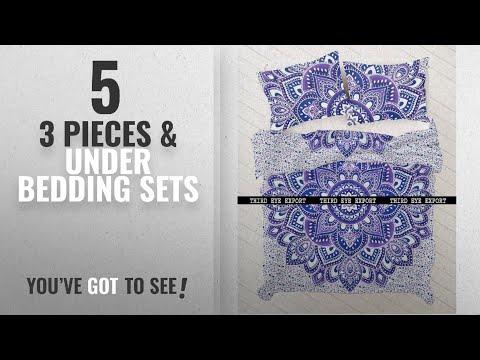 Top 10 3 Pieces & Under Bedding Sets [2018]: Indian Medallion Duvet Coverlet Tapestry / Hippie