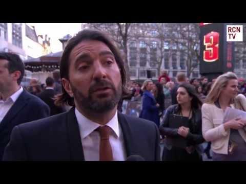 Drew Pearce   Iron Man 3 Red Carpet