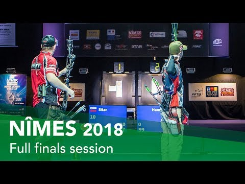 Live Session: Recurve and Compound Finals | Nîmes 2018 Indoor Archery World Cup Stage 3