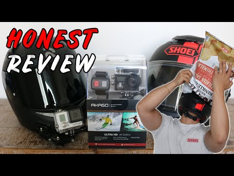 HONEST Review & Demo of the Akaso Brave 4 4K Action Camera