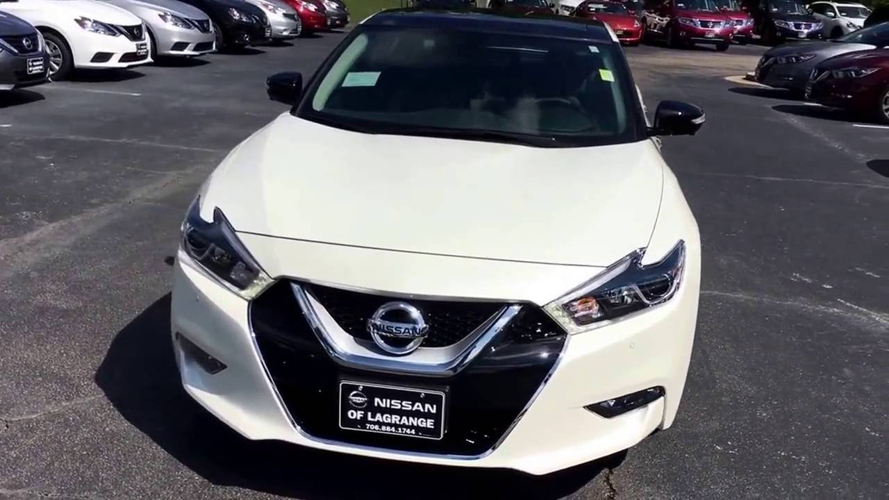 2017 Nissan Maxima Platinum Medallion Package in Pearl ...