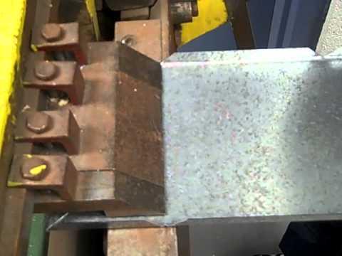 Sheet metal brake plans