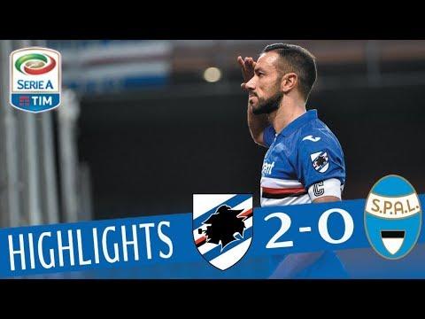 Sampdoria - SPAL 2-0 - Highlights - Giornata 19 - Serie A TIM 2017/18