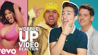 CHRIS BROWN- WOBBLE UP  REACTION FT NICKI MINAJ & G EAZY|E2 reacts