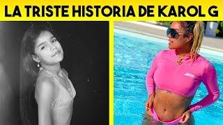 La Triste Historia De KAROL G   Detrás de la Fama 2020   TUSA
