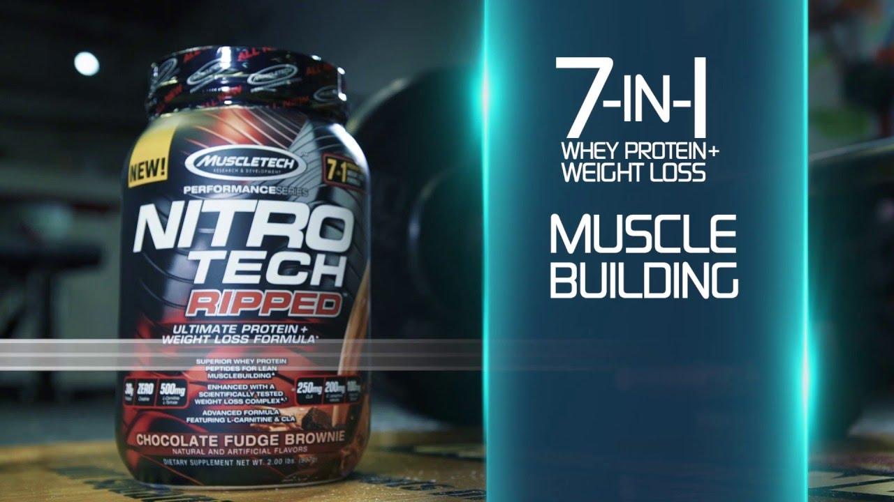 nitro tech padėti numesti svorio
