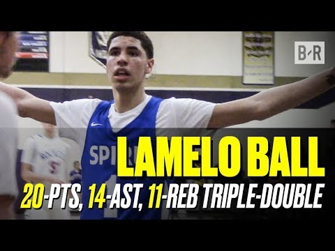 LaMelo Ball DROPPED Another Triple-Double, Rocket Watts And Isaiah Jackson Lead Spire To EASY W