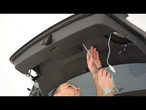 VW Golf Mk6 tailgate panel removal