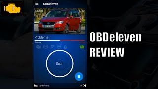 OBDeleven Installation Review - Getting Started - Service reset VW Touran Obd11