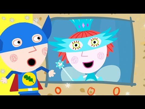 Ben and Holly's Little Kingdom | Superheroes | 1Hour | HD Cartoons for Kids