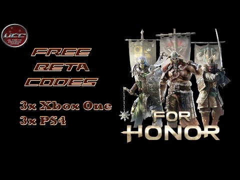 For Honor gratis Betacodes Giveaway 3x PS4 + 3x Xbox One für die Closed Beta 6 Codes | Team UCC