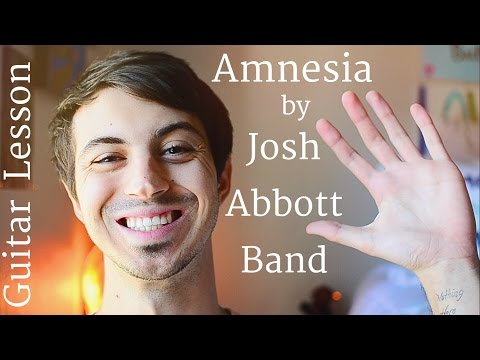 Amnesia (Act 5) by Josh Abbott Band Guitar Tutorial // Beginner Friendly!
