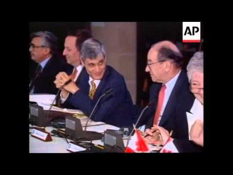 USA: WASHINGTON: G7 FINANCE MEETING
