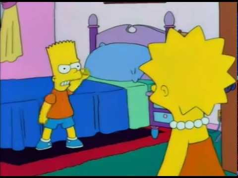 If You Get Hit Its Your Own Fault The Simpsons
