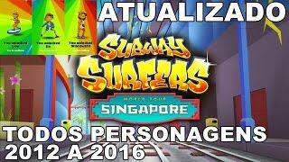 SUBWAY SURFERS 1.57.0 - TODOS OS PERSONAGENS DE 2012 A 2016 - JUNHO - SAMSUNG S6 EDGE - GAMEPLAY