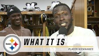 Steelers Antonio Brown asks teammates' nicknames | What It Is
