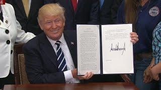 President Trump signs executive order on apprenticeship programs