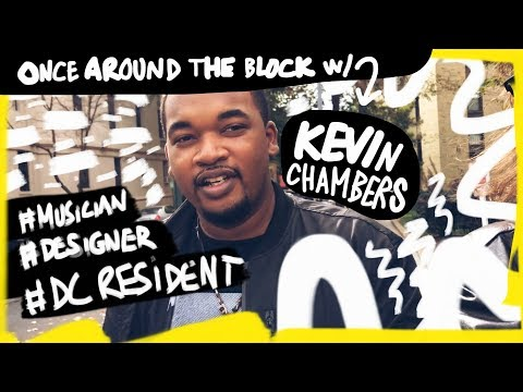 Once Around the Block with Kevin Chambers in Meridian Hill Park,  Washington, D.C.