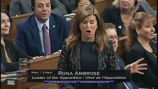 Ambrose Praising Trump While Slamming Trudeau
