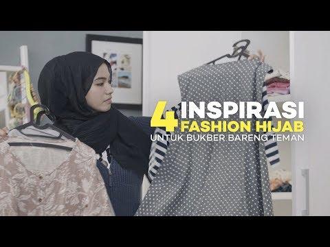 4 Inspirasi Fashion Hijab Kekinian