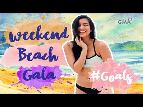 #Goals with Gabbi Garcia: Weekend Beach Gala