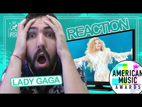 Reaction || Lady Gaga @ American Music Awards 2017 - The Cure