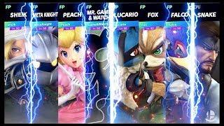 Super Smash Bros Ultimate Amiibo Fights Smashing on Corneria