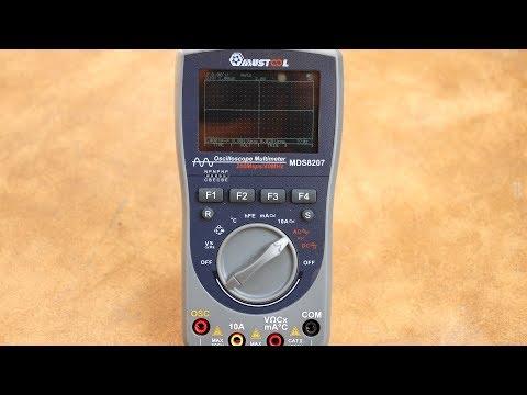 Новый мультиметр-осциллограф MUSTOOL MDS8207