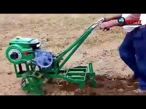 वीडियो देखें: दुनिया की सबसे छोटी खेत जोतने वाली मशीन...   World's Smallest Plowing Machine