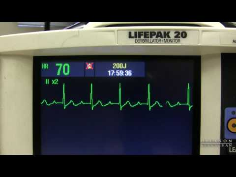 EKG Training: Watching and Interpreting the Defibrillator Monitor