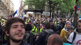Gilets jaunes Acte 25 : faible mobilisation, pas de tensions (4 mai 2019, Paris)