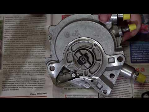 ремонт тандемного насоса VW Touareg 2,5 TDI BAC