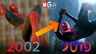 Evolution of FINAL SWINGS in SPIDER-MAN Movies (2002-2019)