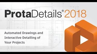 Creating Project Drawings With ProtaDetails