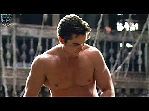 Christian Bale Workout 'Batman: Begins' Behind The Scenes [+Subtitles]