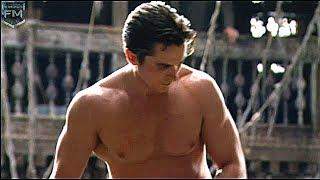 Christian Bale Workout 'Batman: Begins' Behind The Scenes [+Subtitles]
